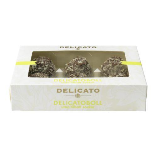 DELICATOBOLL Sugar-free chocolate pastry  Net weight: 240 g