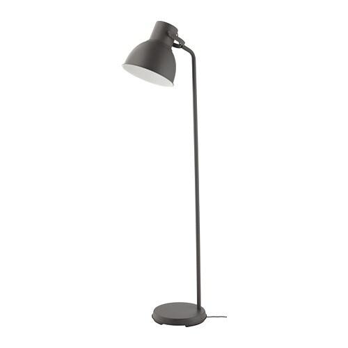 Grey Floor Lamp IKEA