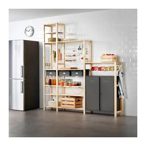 IVAR / SKÅDIS 3 sections/cabinet/shelves IKEA