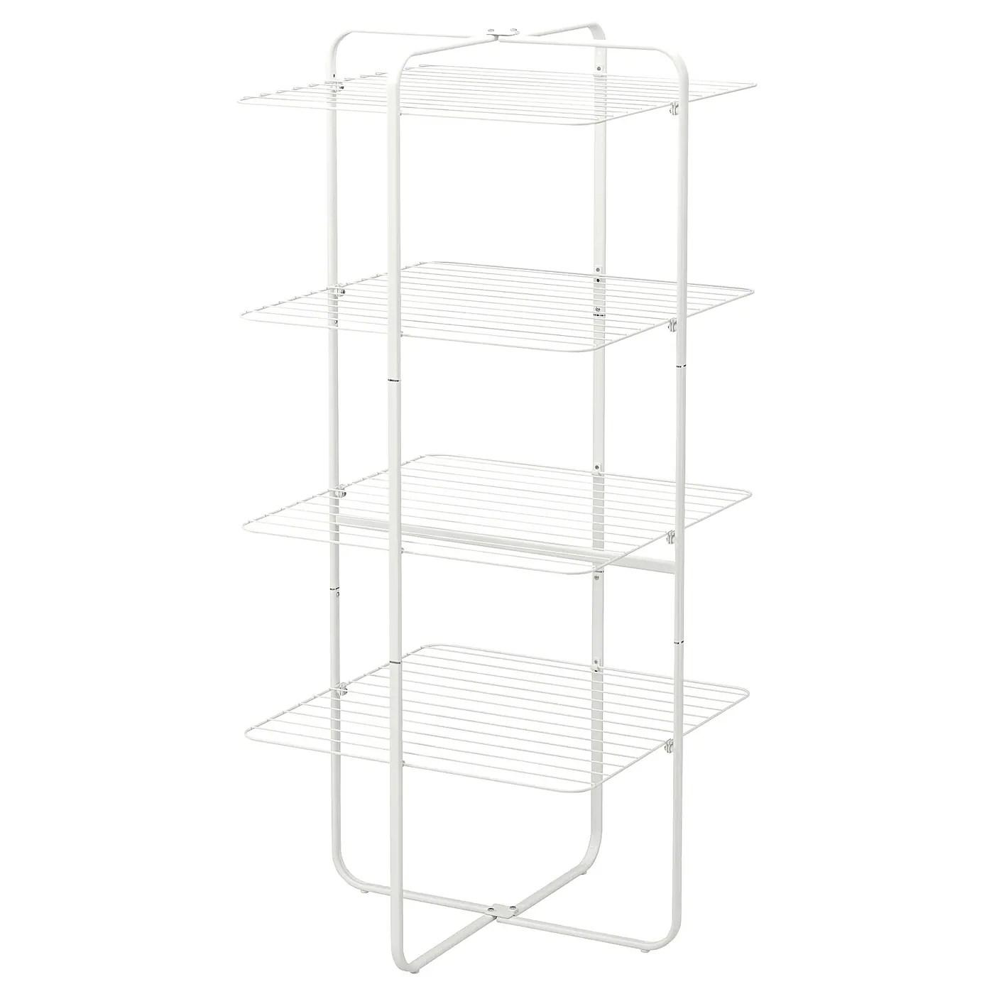 Mulig Sechoir 4 Niveaux Int Ext Blanc Ikea