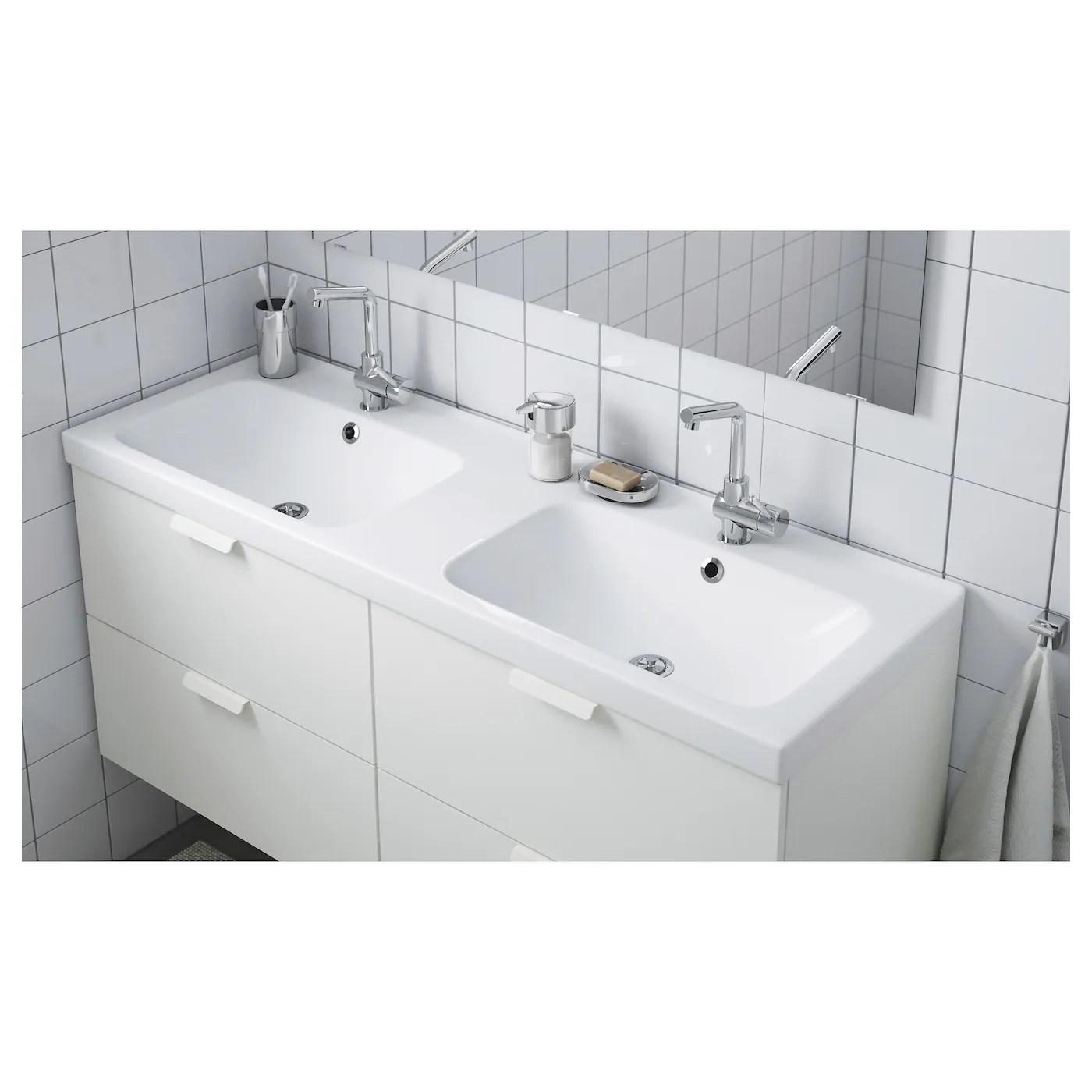 Odensvik Double Vasque 143x49x6 Cm Ikea