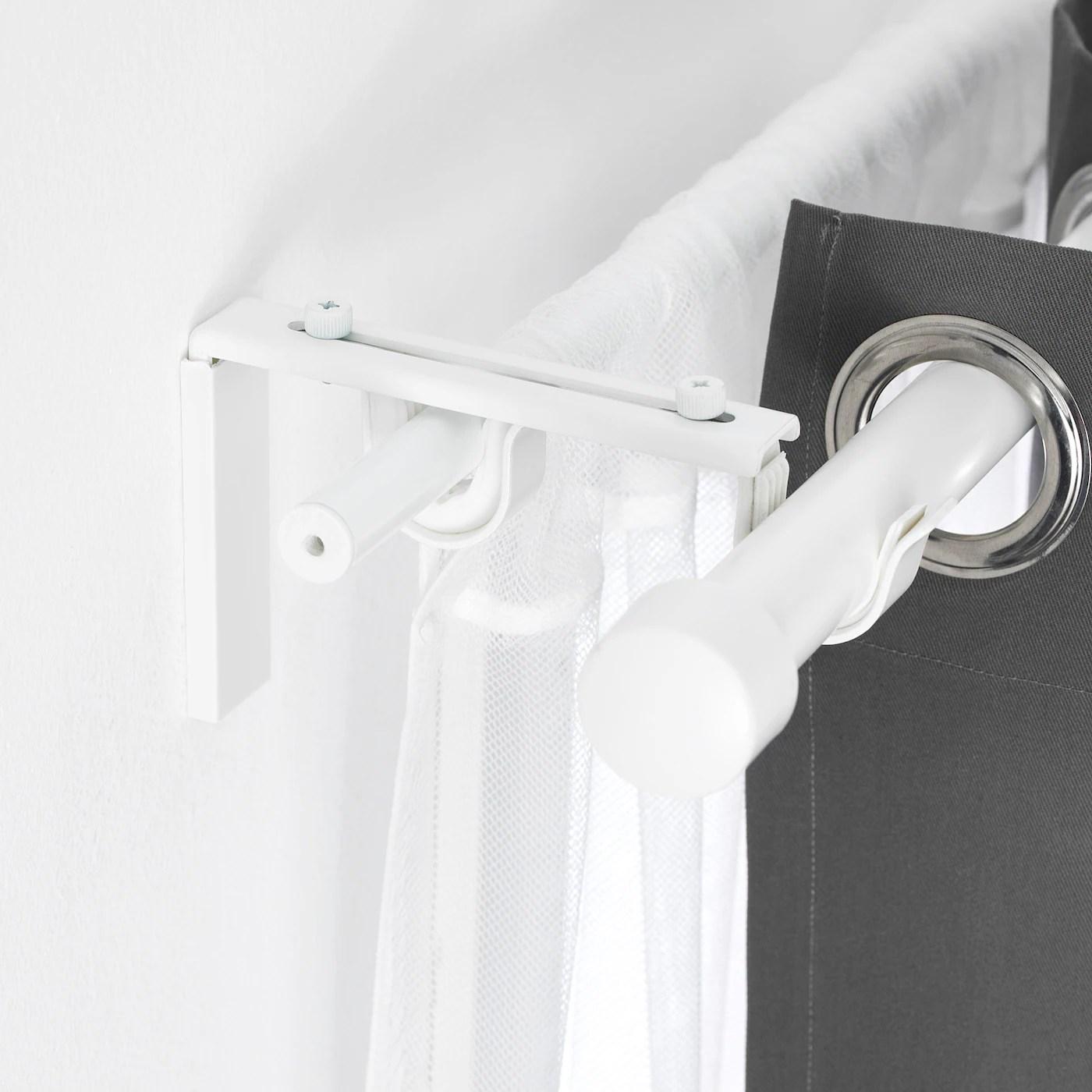 betydlig curtain rod holder white