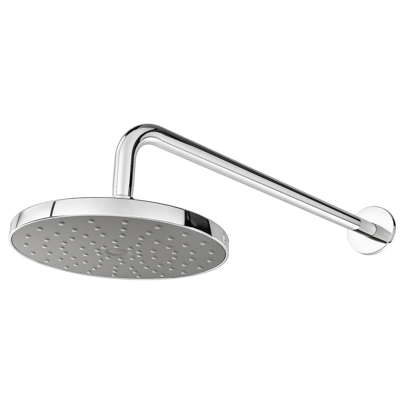 brogrund 1 spray showerhead with arm chrome plated