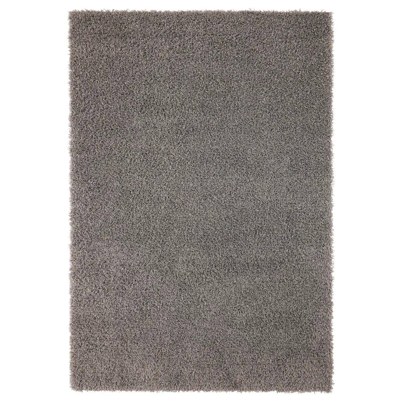 hampen rug high pile gray 4 4 x6 5 133x195 cm