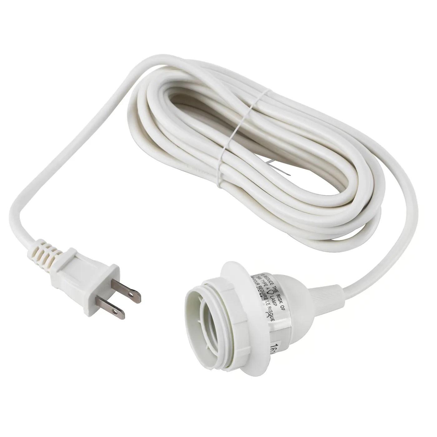 hemma cord set white 15 5 4 7 m