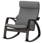 Poang Rocking Chair Lysed Gray Ikea Canada Ikea