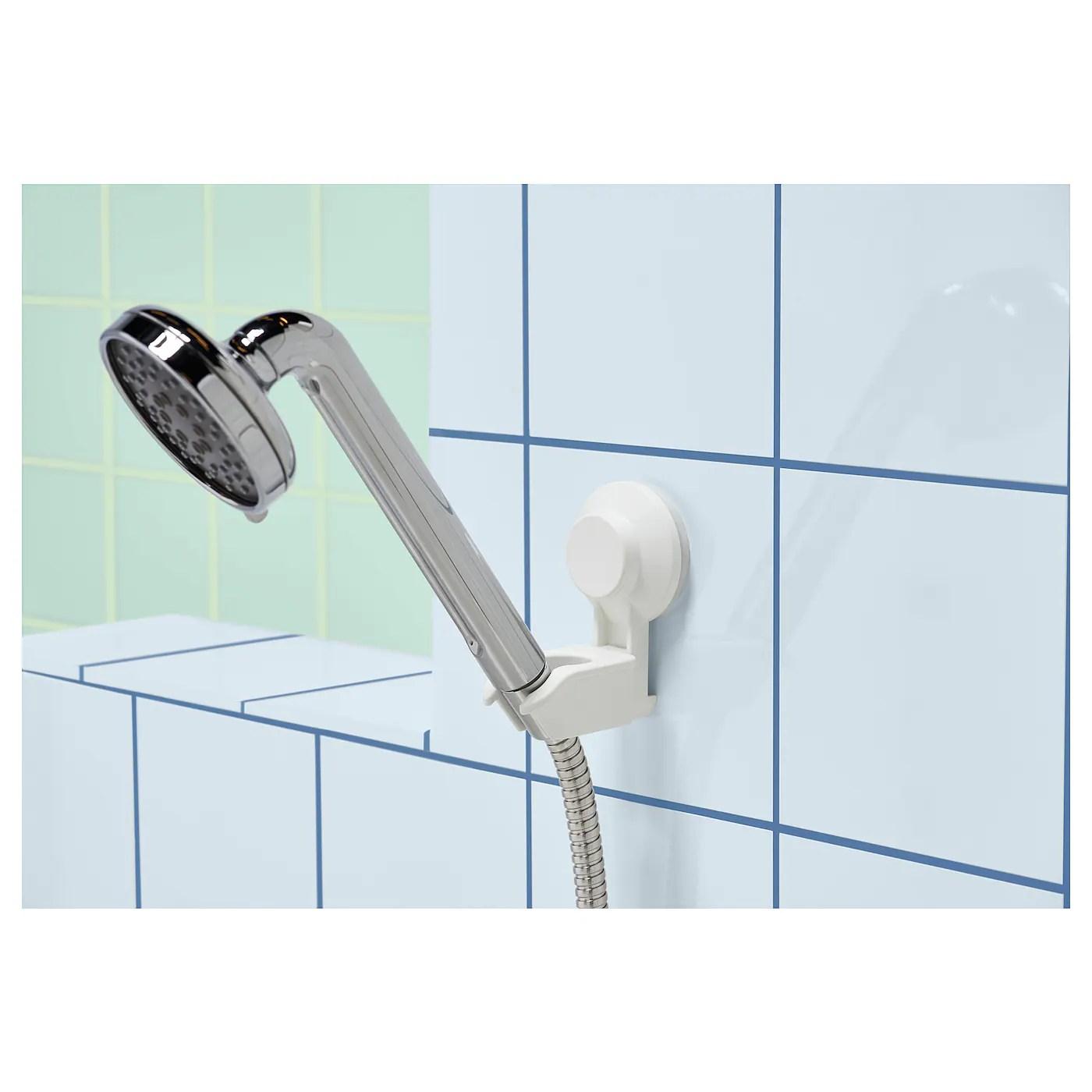 Handheld Shower Holder Suction Cup Tisken White