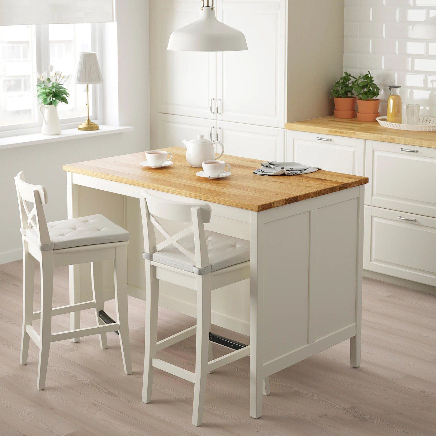 Tornviken Kitchen Island Off White Oak Shop Ikea Ca Ikea