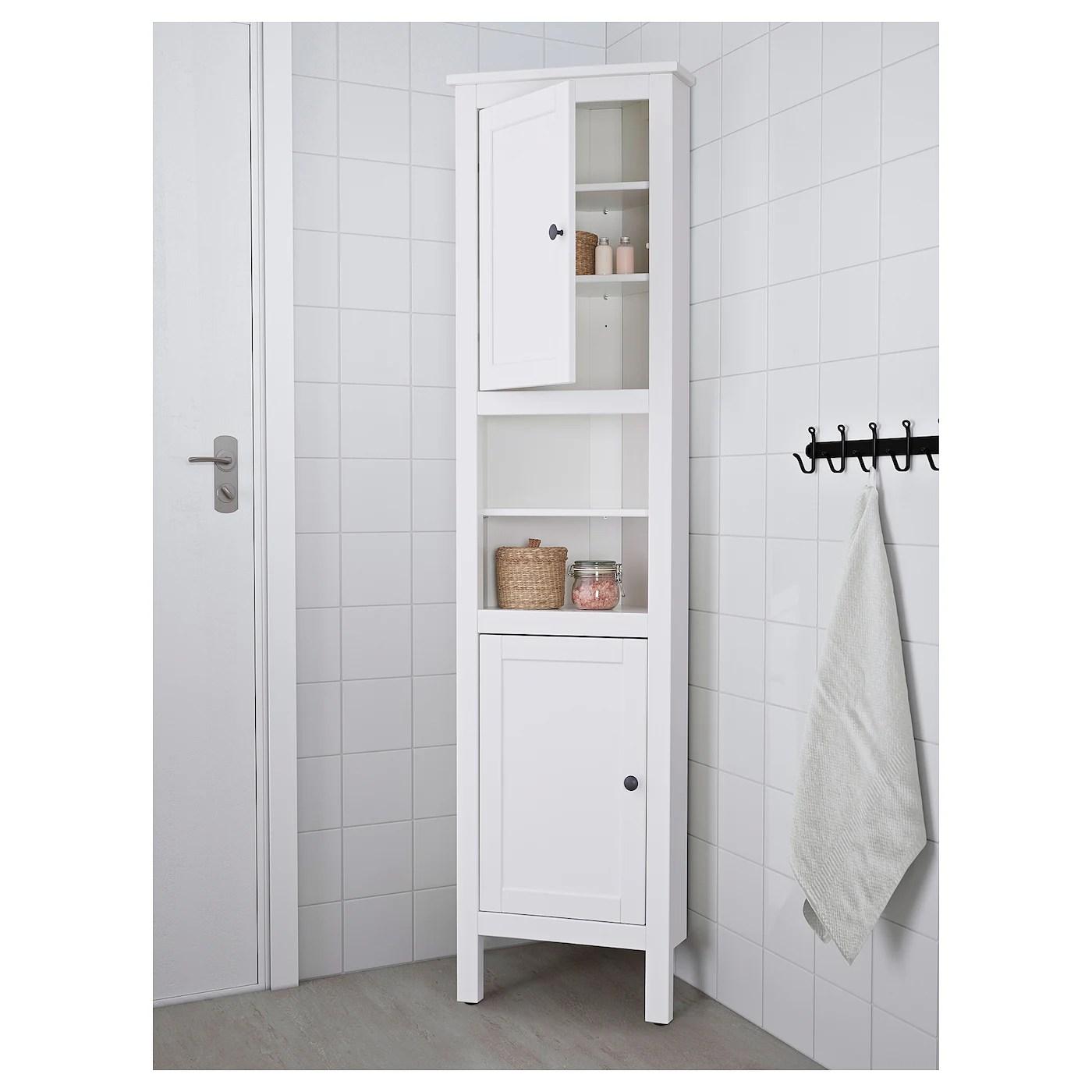hemnes meuble d angle blanc 20 1 2x14 5 8x78 3 8 52x37x199 cm