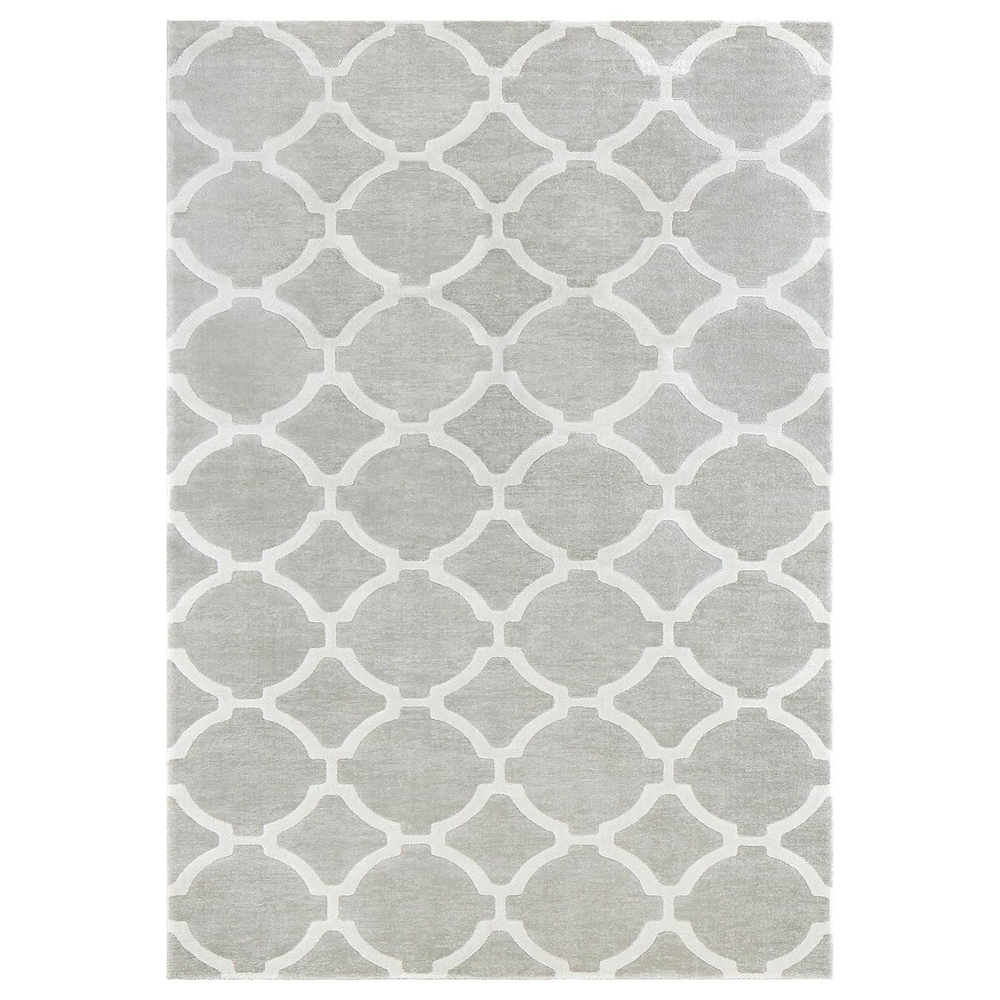 hillested tapis a poils ras gris blanc 6 7 x9 10 200x300 cm