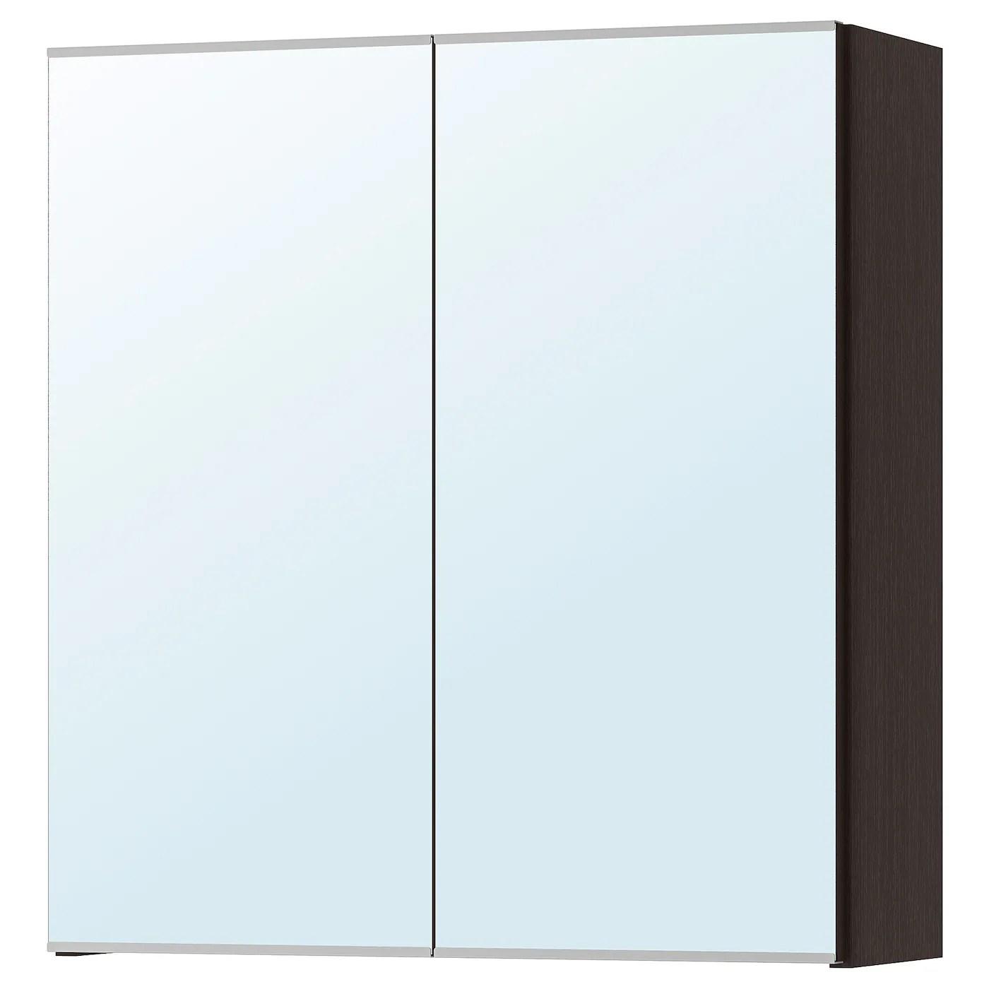 Lillangen Armoire A Pharmacie 2 Portes Miroir Brun Noir Brun Noir 60x21x64cm Magasinez Sur Fr Ikea Ca Ikea