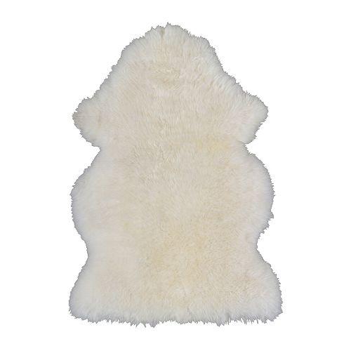 RENS Peau de mouton, blanc