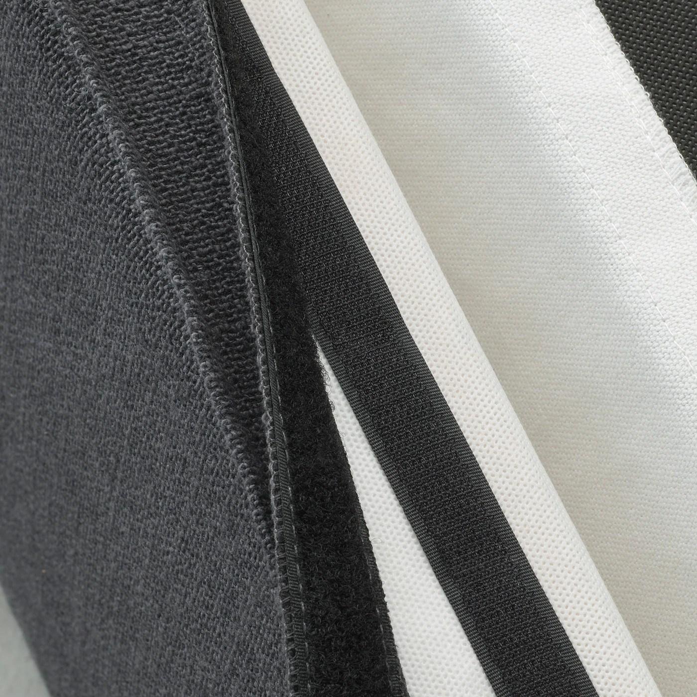 sakarias housse chaise a accoudoirs sporda gris fonce