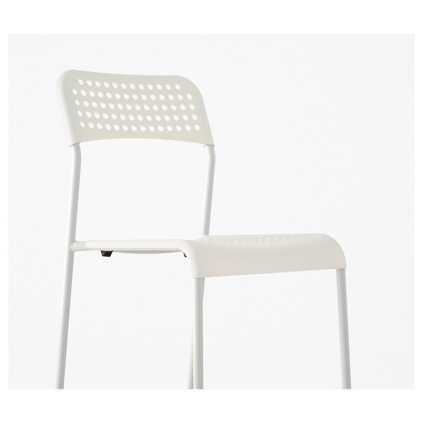 ADDE Stuhl, weiß   IKEA Schweiz