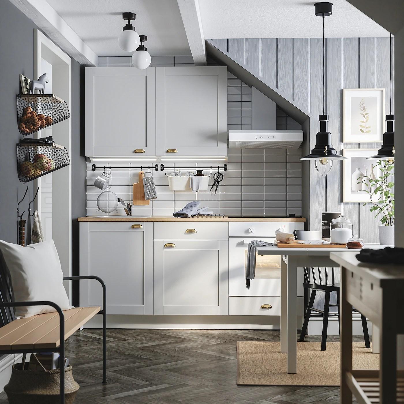 KNOXHULT Küche   grau   IKEA Schweiz