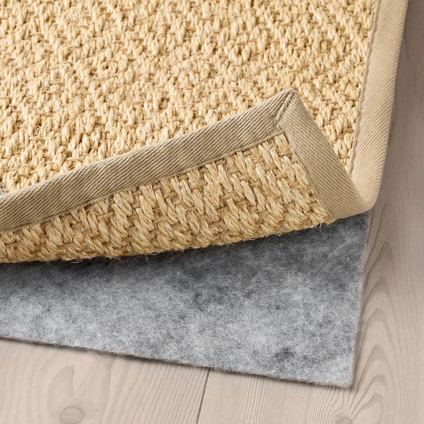 vistoft teppich flach gewebt natur 200x300 cm