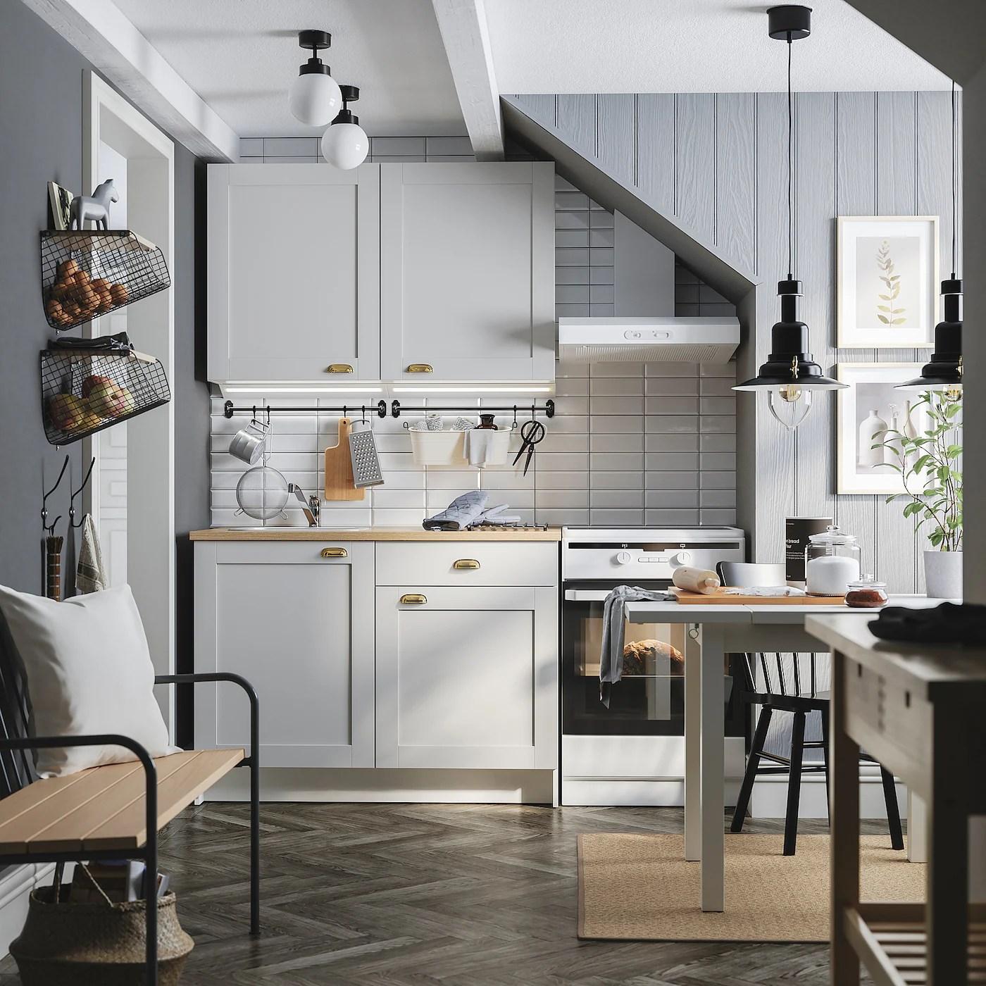 KNOXHULT Kitchen   grey   IKEA Switzerland