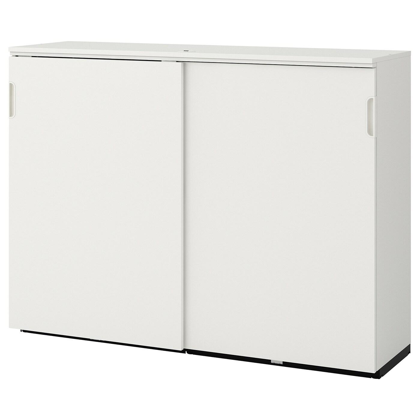 galant element a portes coulissantes blanc 160x120 cm