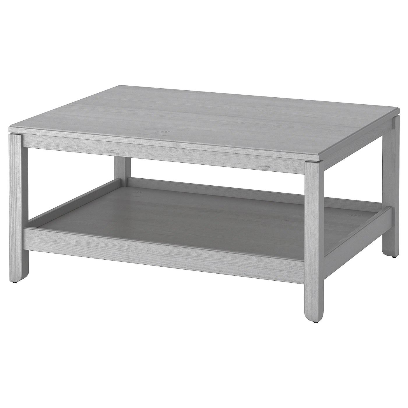 havsta table basse gris 100x75 cm