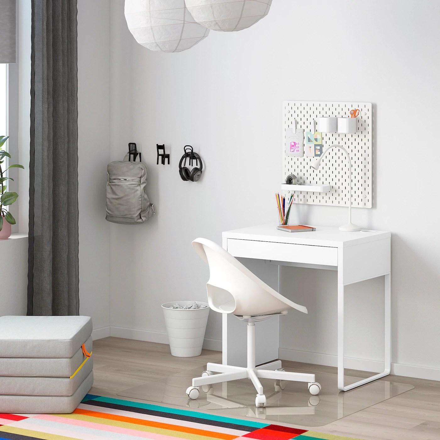 micke bureau blanc 73x50 cm