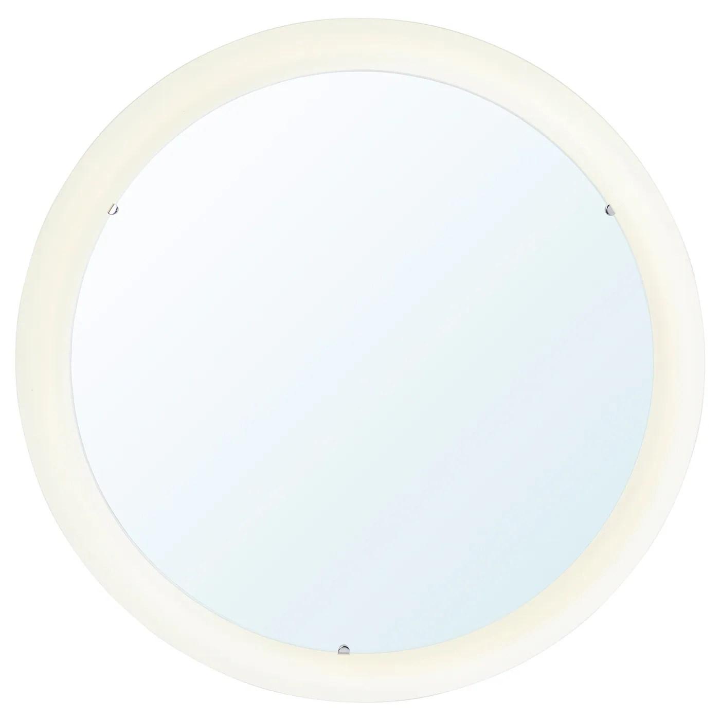 Storjorm Miroir Avec Eclairage Integre Blanc 47 Cm Ikea Suisse
