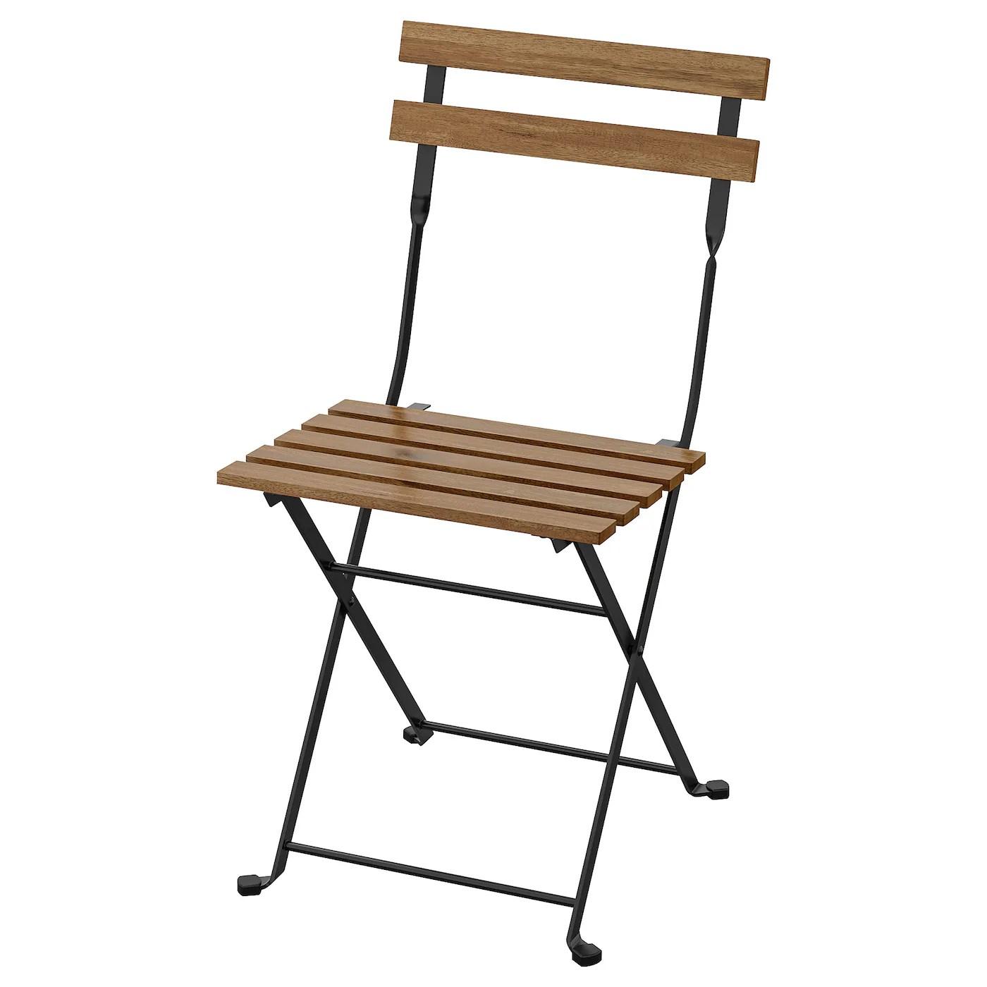 tarno chaise exterieur pliable noir teinte brun clair