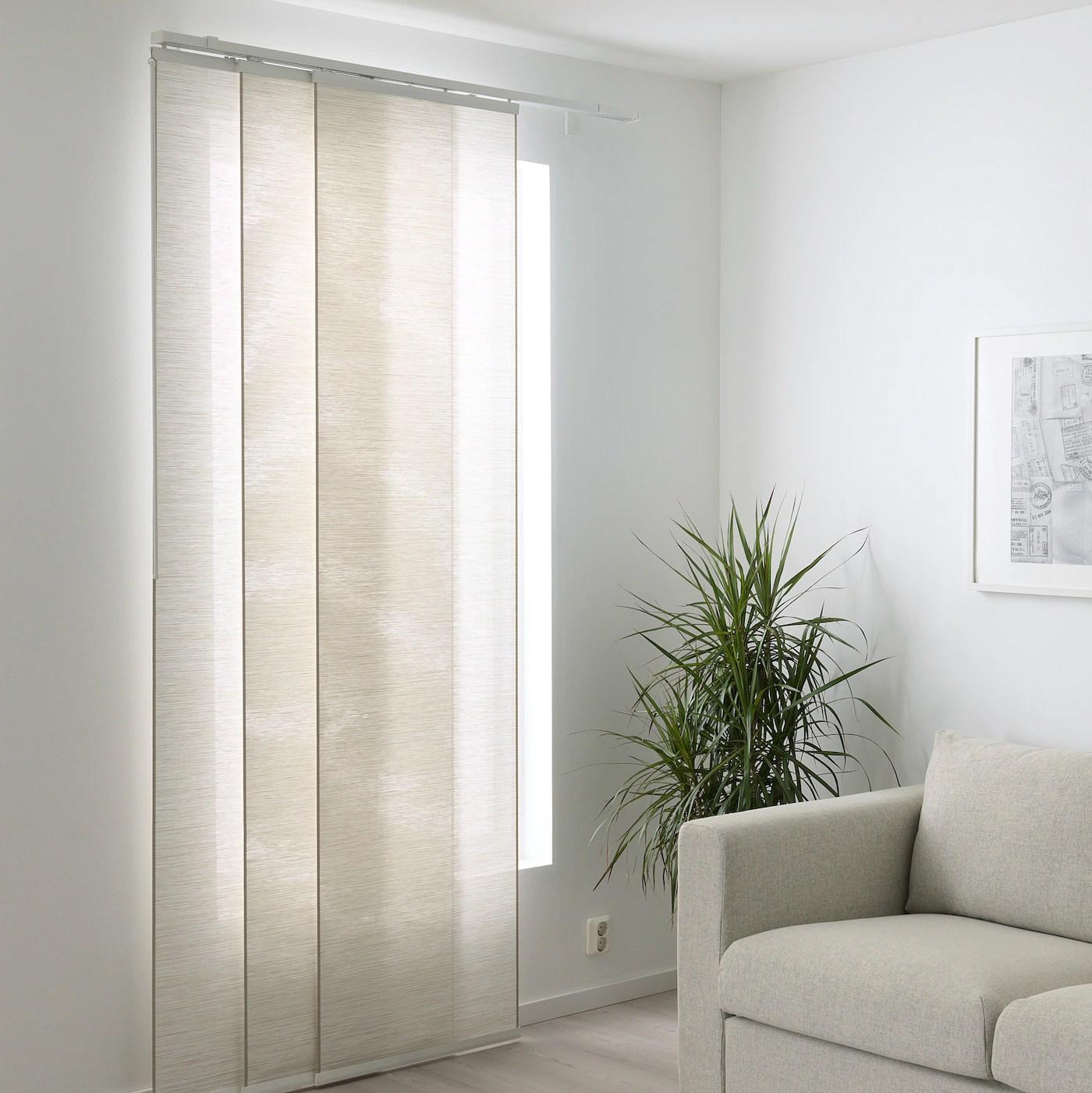 Tende a pannello ikea in vendita in arredamento e casalinghi: Fonsterviva Tenda A Pannello Bianco Beige 60x300 Cm Ikea Svizzera