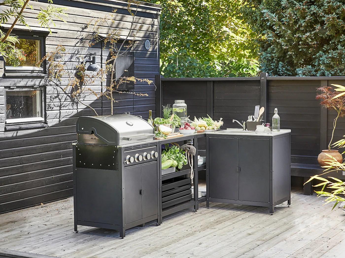 Trova tantissime idee per cucine da esterno ikea. Grillskar Cucina Da Esterno Inox Ikea Svizzera