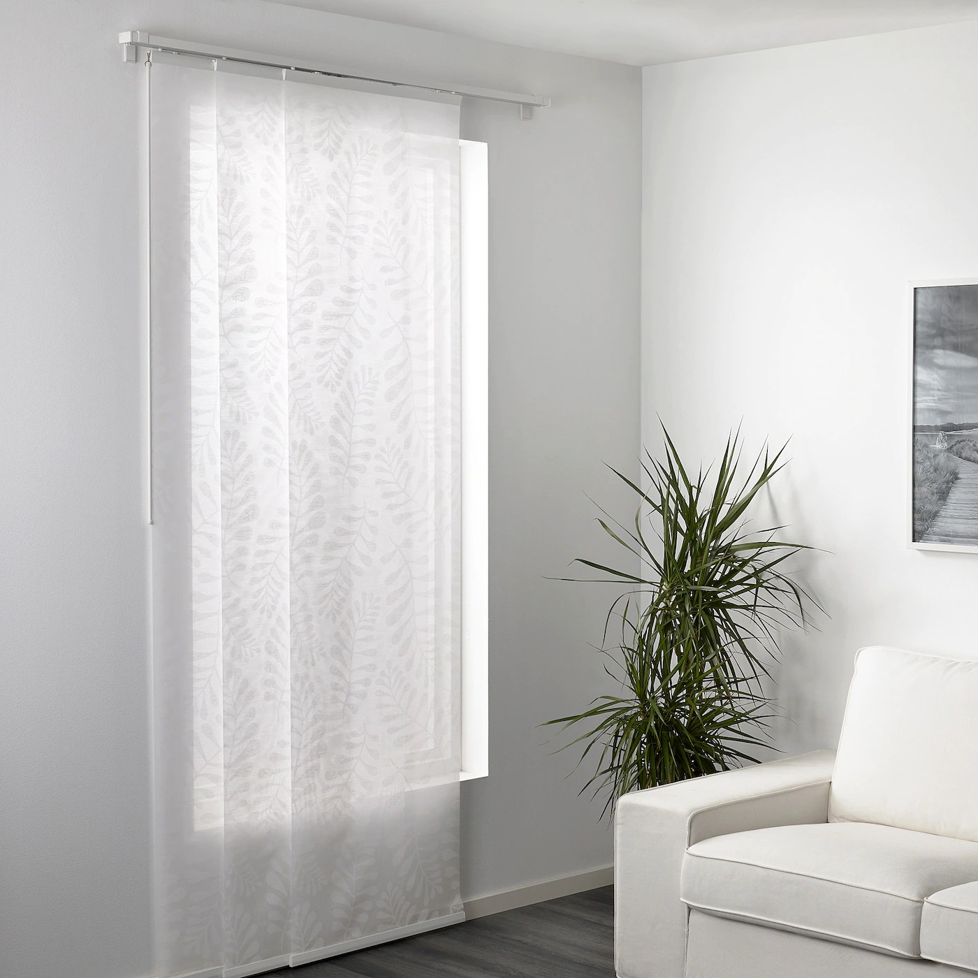 tende a pannello ikea in vendita in arredamento e casalinghi: Yrla Tenda A Pannello Bianco Bianco 60x300 Cm Ikea Svizzera