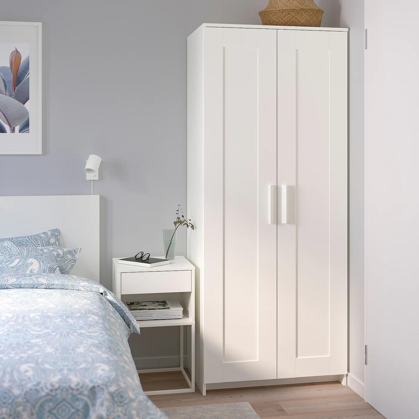 BRIMNES Kleiderschrank 2 türig   weiß   IKEA Deutschland