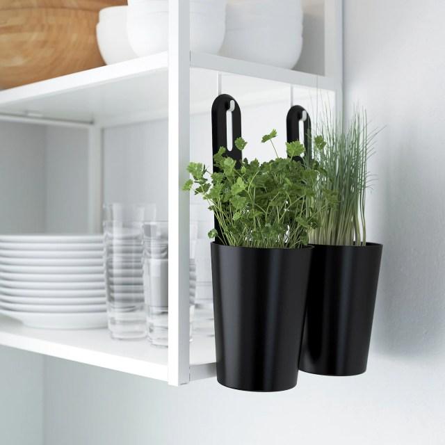 ENHET Regalrahmen für Wand mit Böden, weiß, 40x15x75 cm - IKEA Deutschland