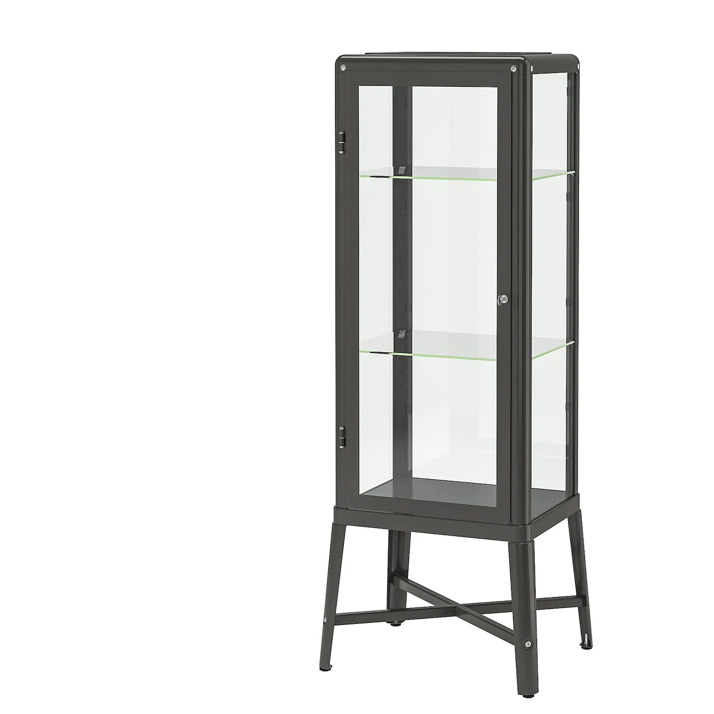 fabrikor vitrine dunkelgrau 57x150 cm