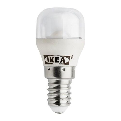 LEDARE LED-Lampe E14 IKEA Leuchtdioden verbrauchen ca. 85 % weniger Energie und halten 20-mal länger als Glühlampen.