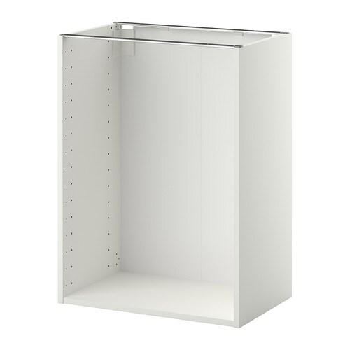 METOD Korpus Unterschrank - weiß, 60x37x80 cm - IKEA