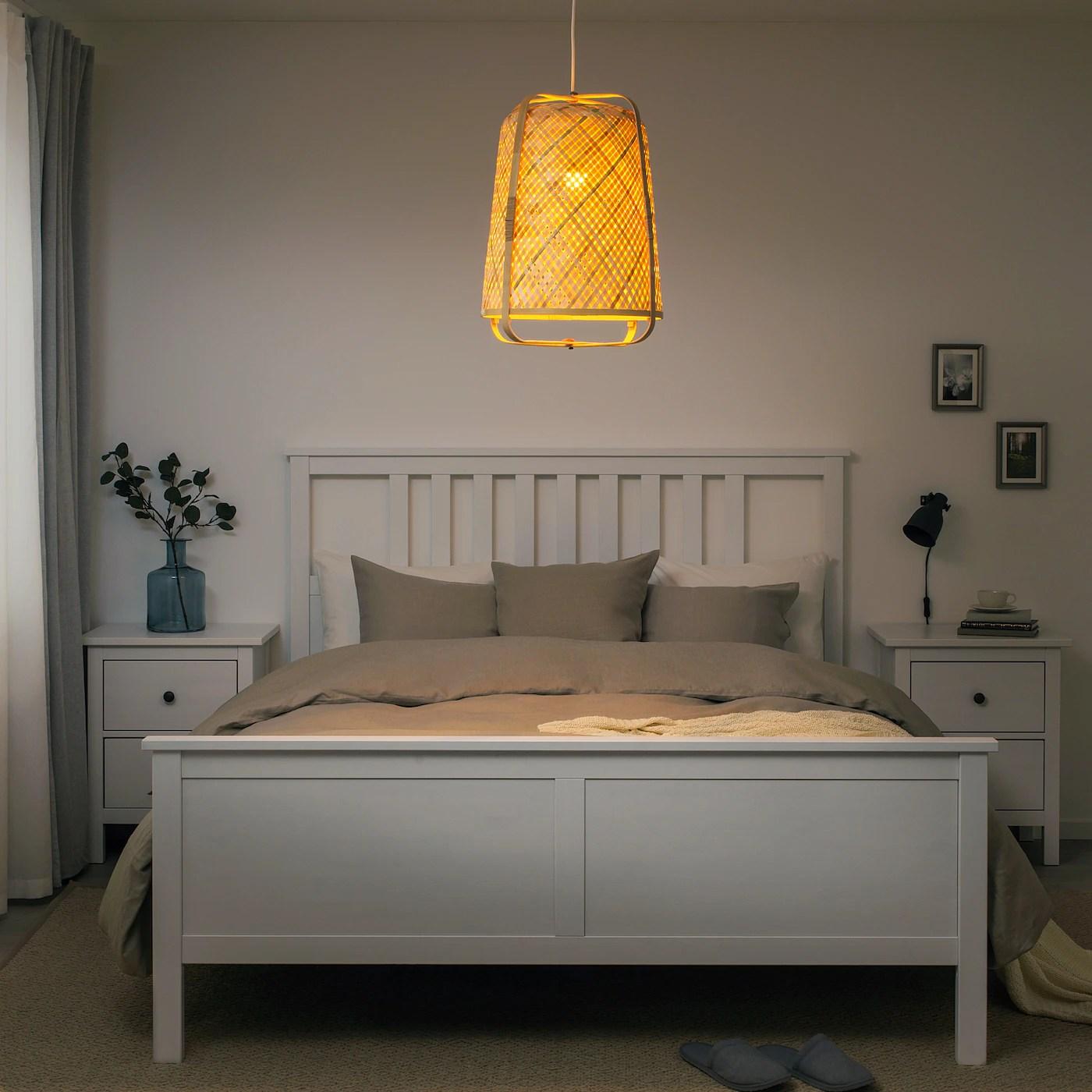 Knixhult Loftlampe Bambus Ikea