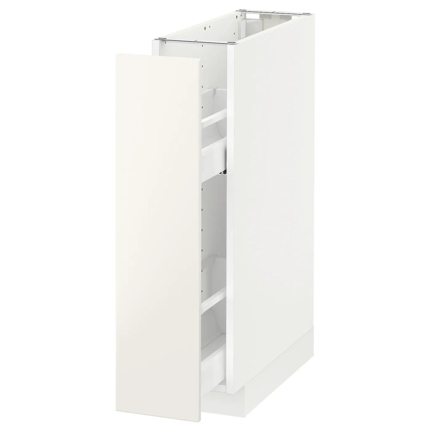 Metod Underskab M Udtraek Indretning Hvid Veddinge Hvid 20x60 Cm Ikea