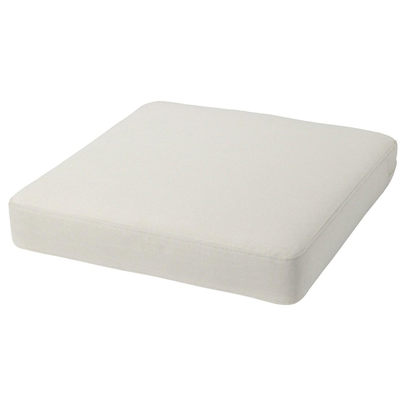 froson duvholmen seat cushion outdoor beige 62x62 cm