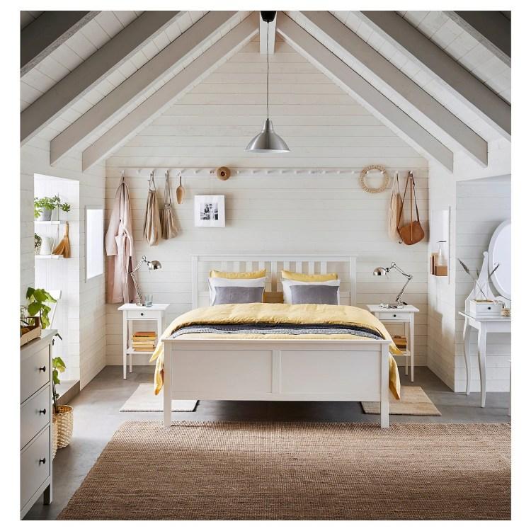 HEMNES - Estructura de cama, tinte blanco/Lönset160x200 cm 271€ de Ikea