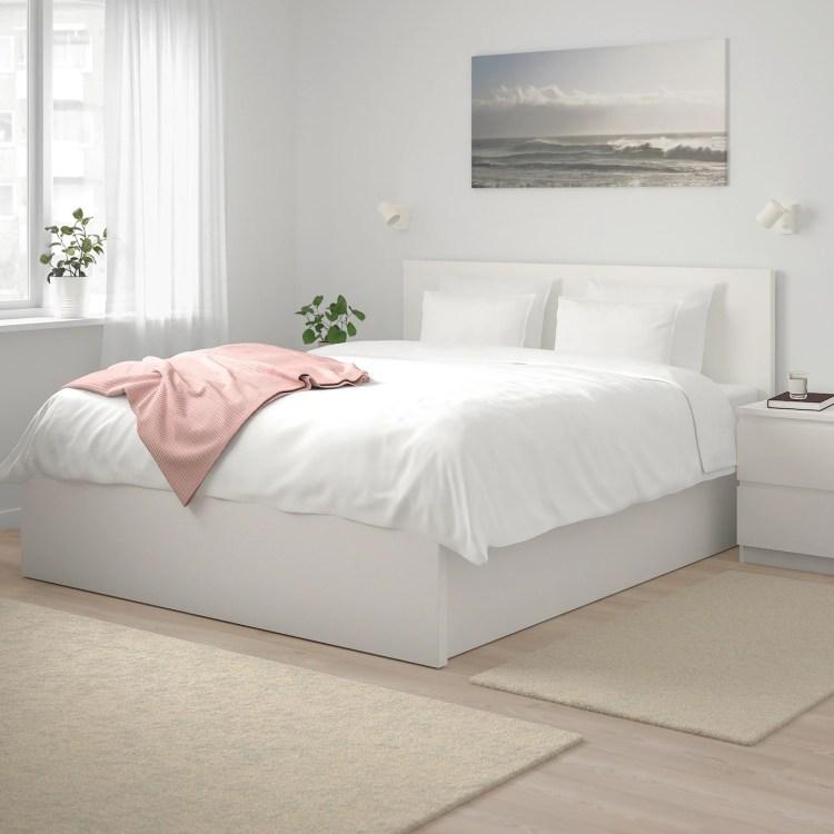 MALM - Canapé abatible, blanco160x200 cm - 349€ Cama de Ikea