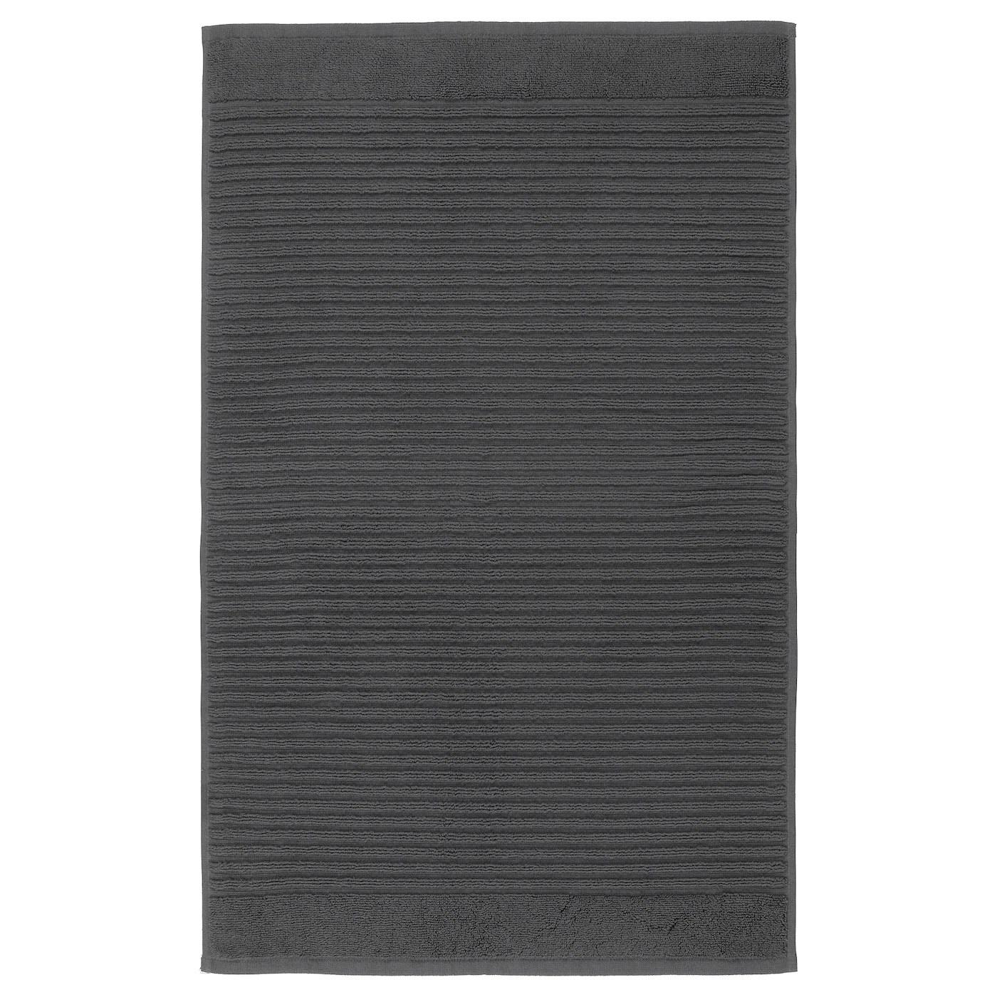 alstern tapis de bain gris fonce 50x80 cm