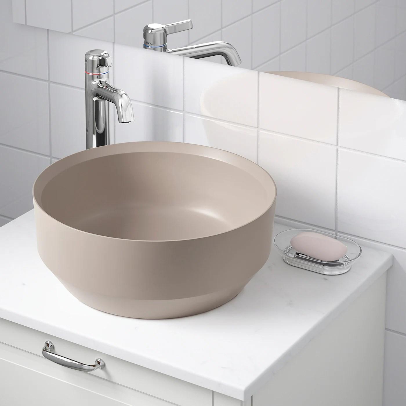 Besslingen Vasque Beige Mat Ikea