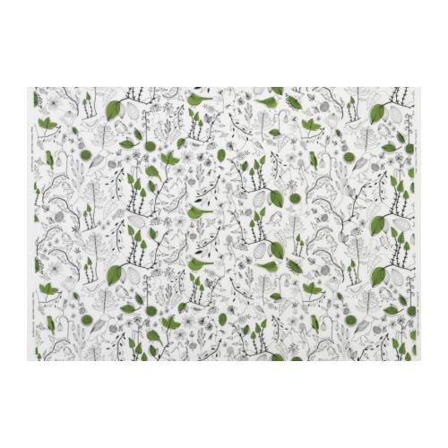 CECILIA Tissu au mètre IKEA Existe en différents motifs.