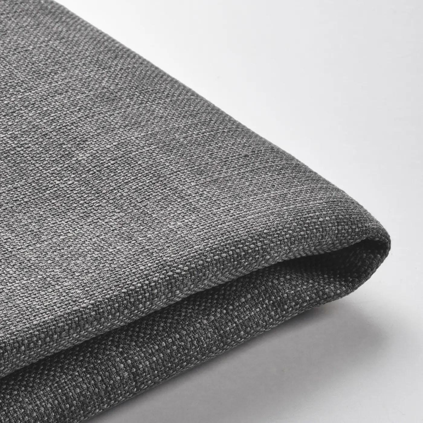 dunvik housse lit sommier skiftebo gris fonce 160x200 cm