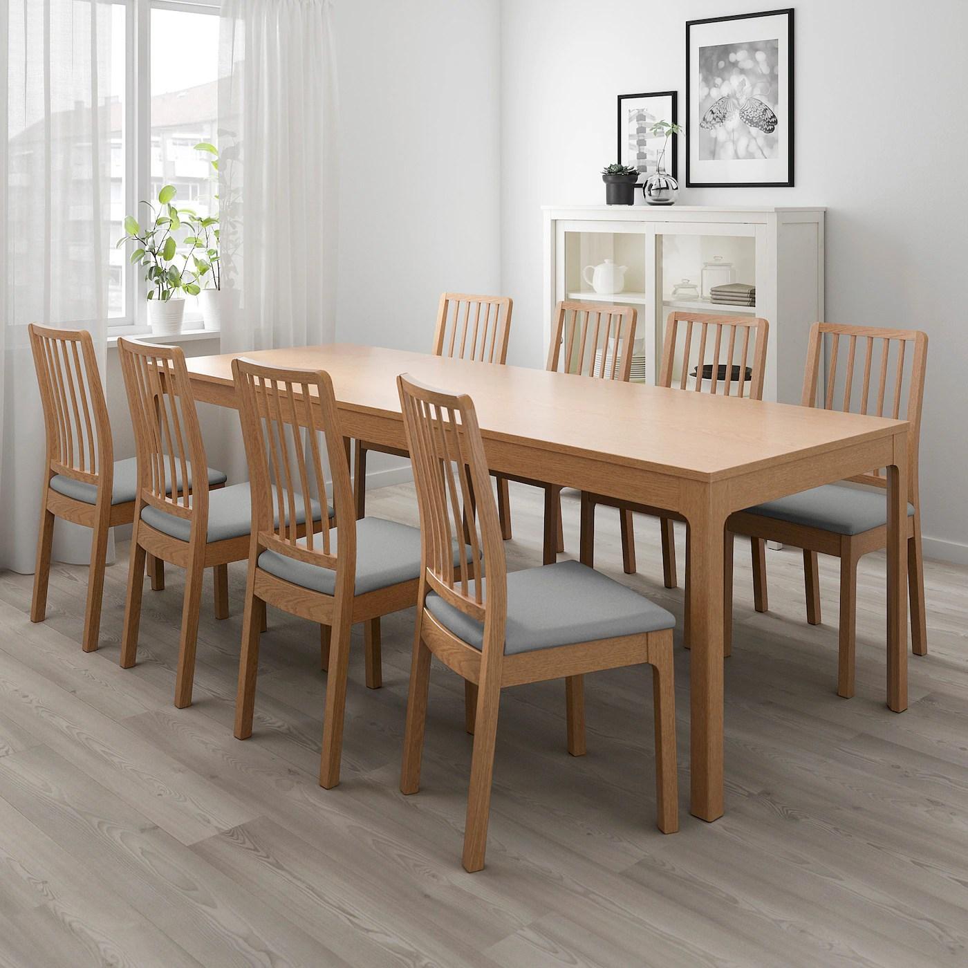 ekedalen table extensible chene 180 240x90 cm