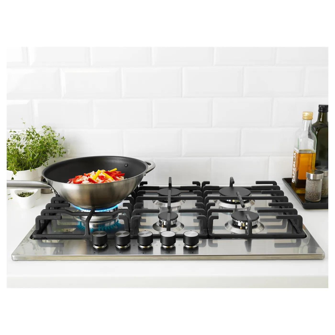 eldslaga table de cuisson a gaz acier inoxydable