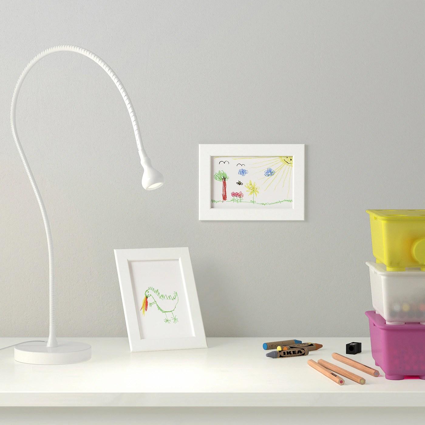 fiskbo cadre blanc 10x15 cm