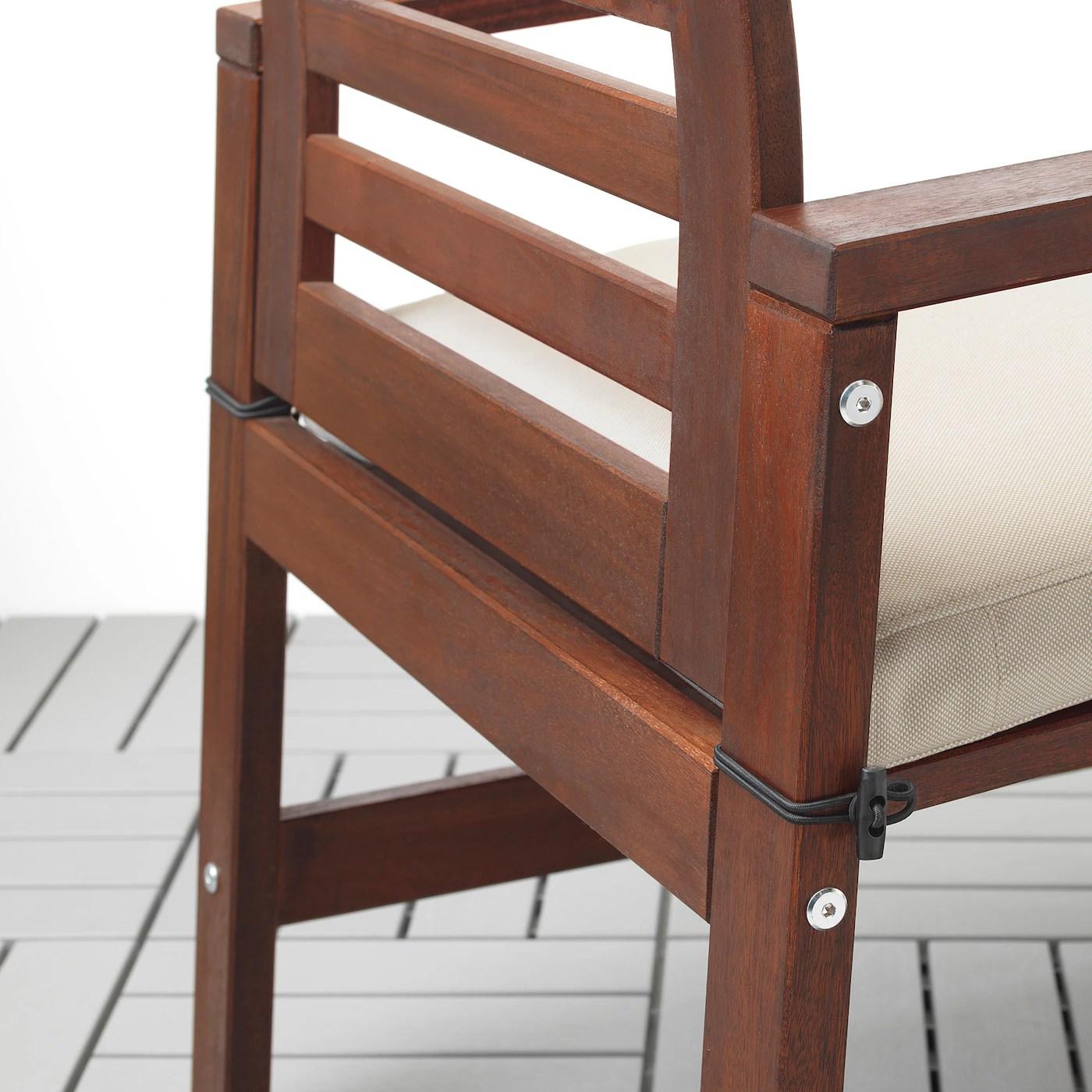 froson duvholmen coussin de chaise exterieur beige 50x50 cm