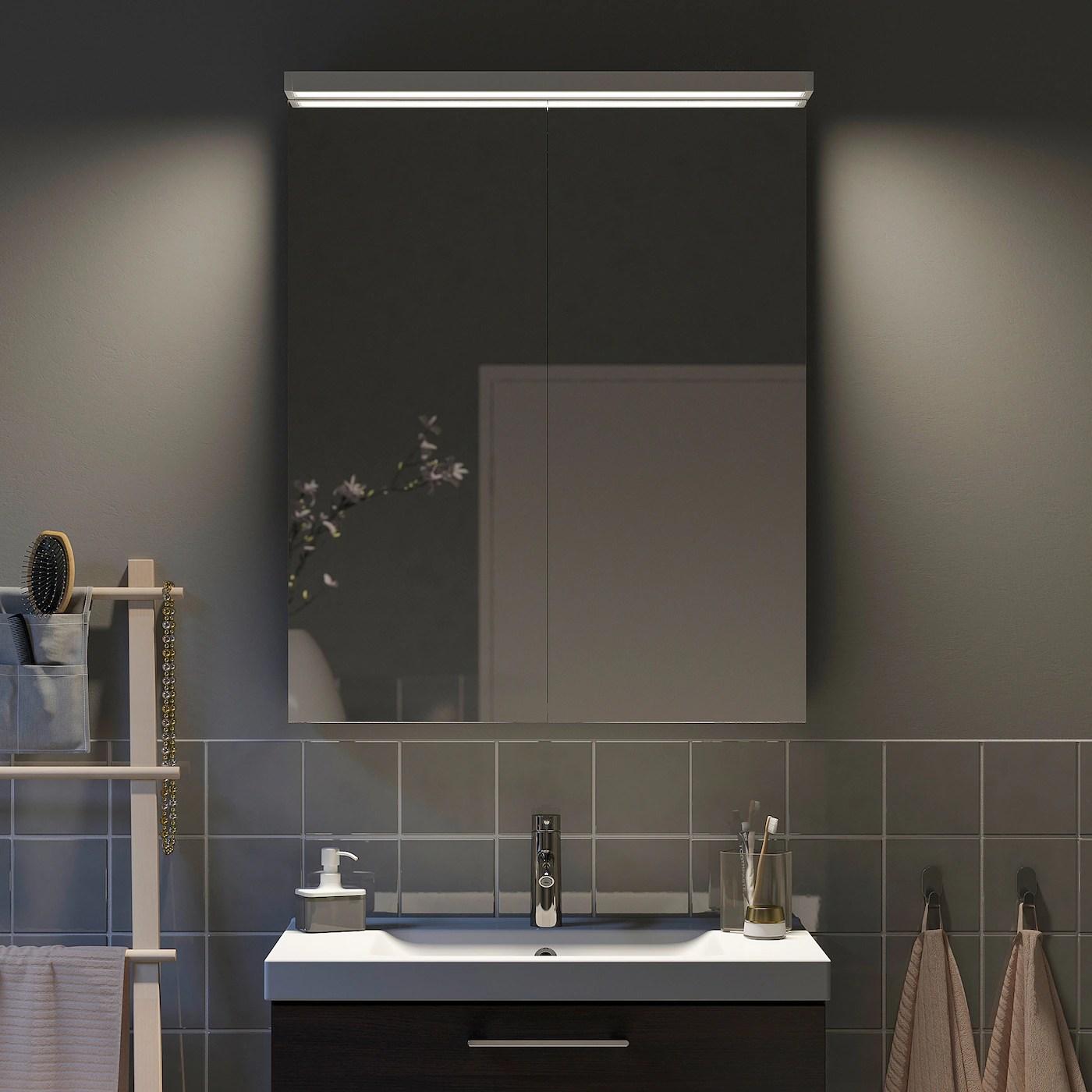 Godmorgon Meuble A Miroir 2 Portes 80x14x96 Cm Ikea
