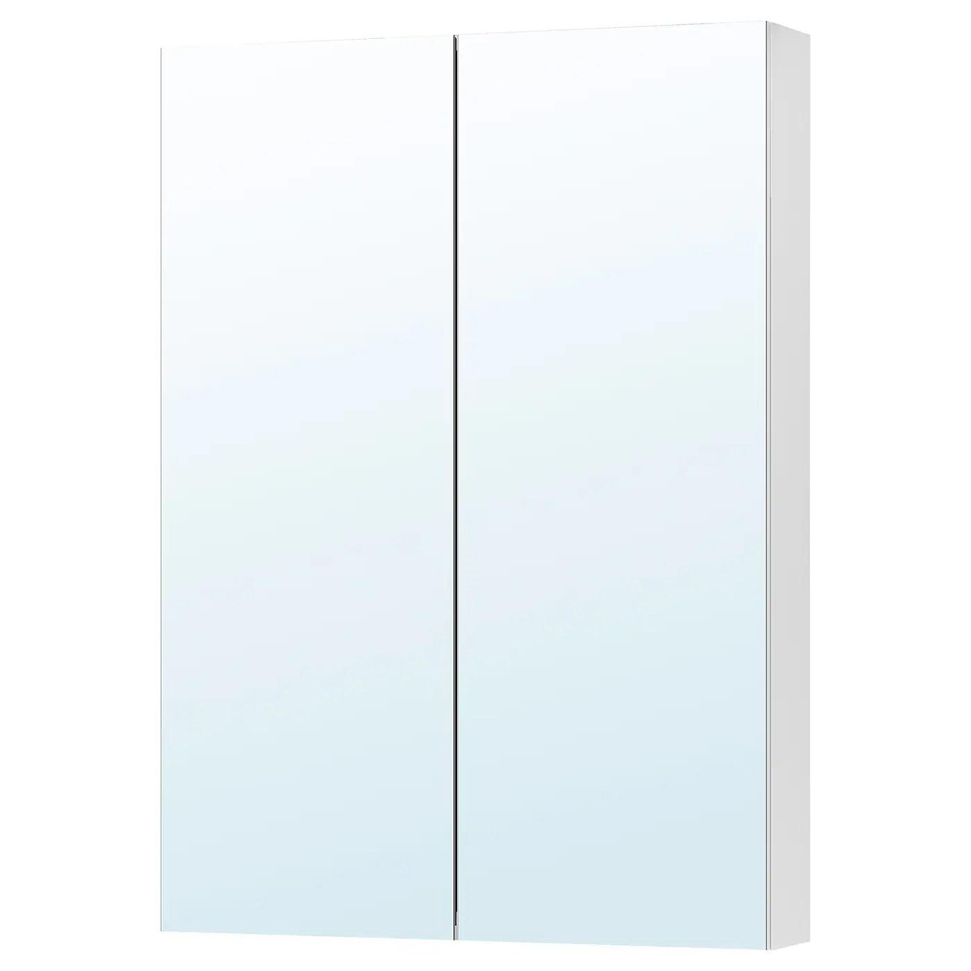 Godmorgon Meuble A Miroir 2 Portes 70x14x96 Cm Ikea