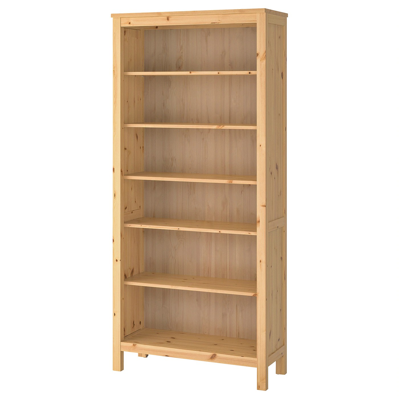 hemnes bibliotheque brun clair 90x197 cm